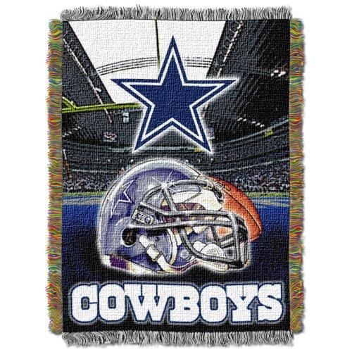 Northwest NFL Decke, Acryl, Gobelinmuster, Dallas Cowboys, 48 X 60 (Dallas Dekor Cowboy)