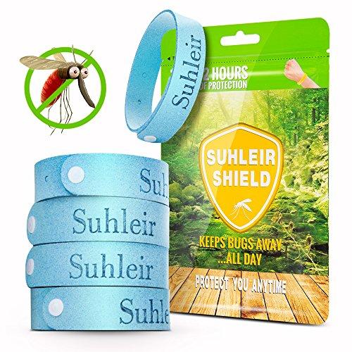 Natural Mückenschutz Armband 5er Set und 6 Patch,Moskito Armband,Repellent Armbänder Mücken Armband Anti Flies, Insekten etc