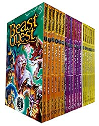 Beast Quest Series 4-6 Collection 18 Books Set
