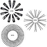 Ghelonadi Metal Hair Pins Combo Set U Shape For Bun Juda Bobby Hairpin Hair Styling Tools Accessories for Girls and Women (50