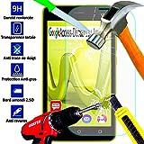 *** INCASSABLE A&D** FILM PROTECTION Ecran en VERRE Trempé pour WIKO LENNY 3 filtre protecteur d'écran INVISIBLE & INRAYABLE vitre SOLIDE pour Smartphone Lenny3 3g lte or 4g DUAL SIM
