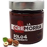 Cremorra Solo 4 Ingredienti Crema spalmabile alle nocciole Piemonte IGP – Prodotto Italiano Artigianale ideale spalmato su pa