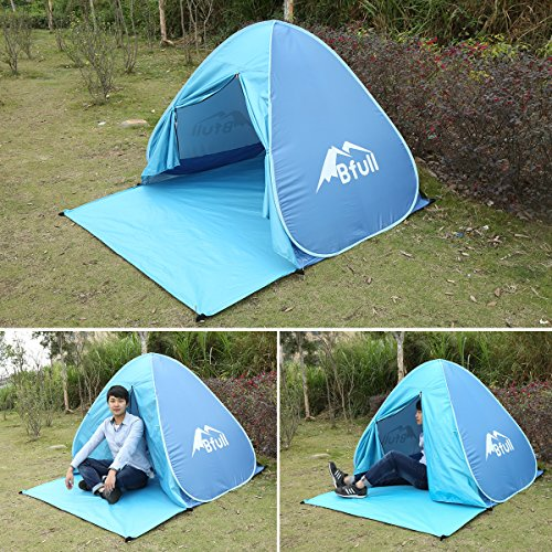 Pop Up Tent Bfull Automatic Portable Beach Tent With Curtain Sun