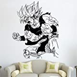Dragon Ball Wandtattoo Baby An Bord Goku Dragon Ball Z Vinyl Aufkleber Aufkleber Im Auto Dbz Super Saiyajin Fenster Anime Wandkunst Aufkleber Baumarkt