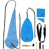 Tbest Kit di Pulizia per Sassofono, Panno per la Pulizia del Flauto Kit di Strumenti per la Pulizia del Sassofono 10 in…