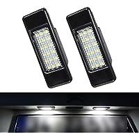 ZesfOr Peugeot 3008 5 Door Crossover LED License Plate Lights