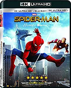 Spider-Man Homecoming 4K Uhd + Bluray Region free Available Now!!