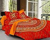 SheetKart Sapphire Cotton Double Bedshee...