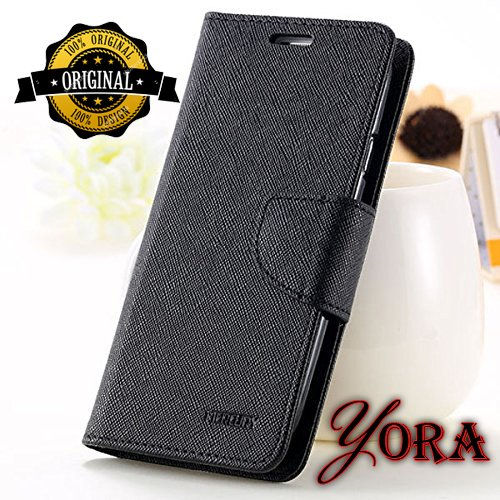 Micromax Canvas 4 A210 Premium High Quality Luxury Flip Cover Case By Yora  available at amazon for Rs.178