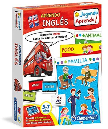 Clementoni - Aprendo Inglés, juego educativo (65598.4)