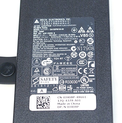 Dell PA-5M10 150W AC Power Adapter Battery Charger Compatible Systems:...
