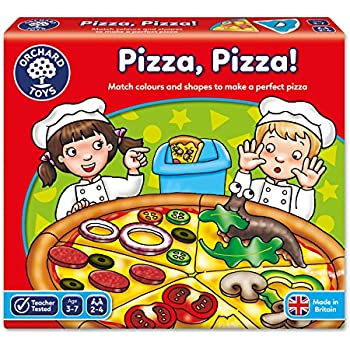 janod j08245 jeu de soci t 123 pizza bois jeux et jouets. Black Bedroom Furniture Sets. Home Design Ideas