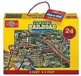 T.S. Shure Klassische Eisenbahn Jumbo-Bodenpuzzle