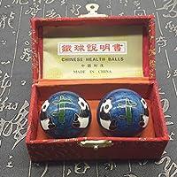 QTZS Chinesische Traditionelle Fitness-Ball Dekompression Handball Blau Panda 50mm450g preisvergleich bei billige-tabletten.eu