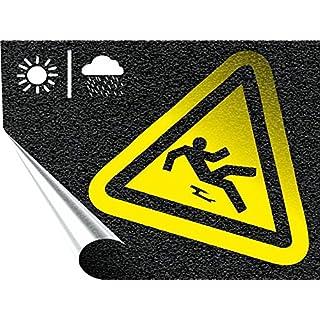 AufkleberDealer Anti Rutsch Folie - spezielle, rutschsichere Oberfläche Rollenbreite 137 cm Schwarz