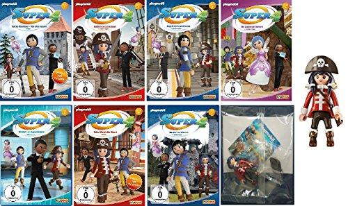DVD 1-7 + Piratin Figur im Set (7 DVDs)