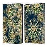 Head Case Designs Ufficiale Olivia Joy StClaire Cactus Tropicale Cover in Pelle a Portafoglio Compatibile con Amazon Kindle Fire HDX 8.9