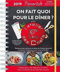 On fait quoi pour le dîner avec L'atelier des Chefs ? 2018-2019