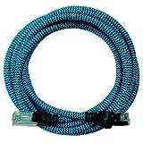 [I.] Premium Nylon Diseño CAT6–Cat.6Gigabit Ethernet LAN Cable de red, Internet Cable, DSL, Patch Cable, LAN Cable de cable, conector RJ45, 10/100/1000Mbit/s | compatible con CAT5y CAT7 azul 2 m
