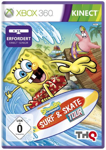Sponge Bob Surf & Skate Tour (Für Xbox Spiele Spongebob 360)