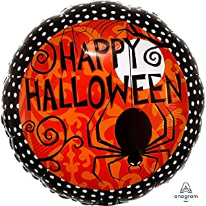 "Amscan International 2564201 ""Frightfully Fancy Globos de Papel de Aluminio (estándar)"