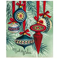 YKCKSD Paint by Numbers DIY Oil Painting Canvas Wall Art Home Decoration,Five Christmas Tree Ornaments 40x50cm Frameless