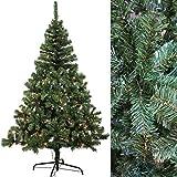 Künstlicher Weihnachtsbaum 240 cm mit 350 LED Beleuchtung Christbaum Tannenbaum