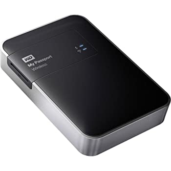 WD 2TB My Passport Wireless - Hard Disk Esterno Portatile - WIFI USB 3.0 - WDBDAF0020BBK-EESN