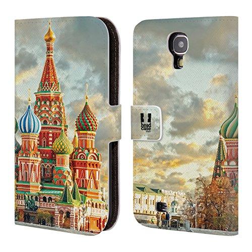 Head Case Designs Dubai Skylines Der Städte Brieftasche Handyhülle aus Leder für Samsung Galaxy S5 mini Basilius-kathedrale