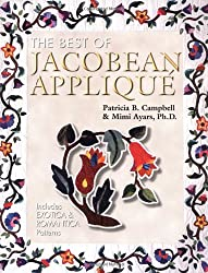 The Best of Jacobean Appliqué: Includes Exotica and Romantica Patterns