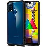 Spigen Funda Ultra Hybrid para Samsung Galaxy M31 - Negro Mate