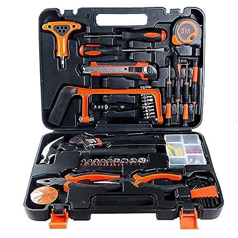 82pcs Professionelle Haushalts-Hardware-Kombination Tools Kit Verpackt Platz