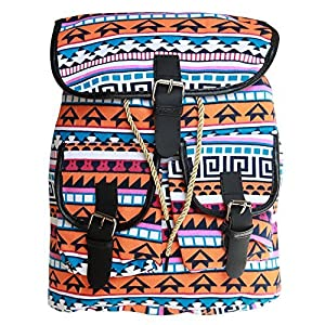 BRANDX Imported Designer Collectionz light weight Canvas Backpack Cute Travel School College Shoulder Bag/Bookbags for Teenage Girls/Students/Women/ Girls- (US Best Seller) Owlp3501B