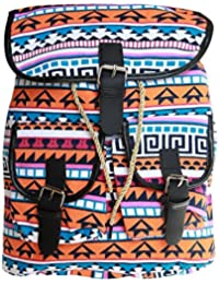 BRANDX Imported Designer Collectionz Light Weight Canvas Backpack Cute Travel School College Shoulder Bag/Bookbags...