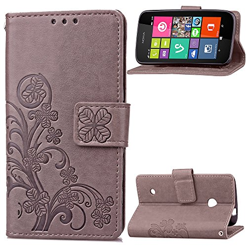nokia-lumia-530-n530-case-leather-ecoway-clover-embossed-patterned-pu-leather-stand-function-protect