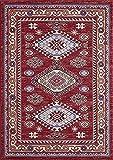 A2Z RUG A2z Schnellspanner Teppich Traditionelle Qashqai 5576–stilvoll Collection Teppiche, rot 140x 200cm–4'17,8cm X6' 17,8cm FT
