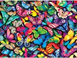 Twuky 5D DIY Diamond Set Full Diamond Diamond Painting Living Room Wall Stickers,Butterflies(14X18inch/35X45CM)
