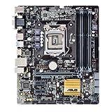 Asus B85M-G Plus/USB 3.1 Mainboard Sockel 1150 (µATX, Intel B85, 4x DDR3 Speicher, 4x SATA 6Gb/s, 2x SATA 3Gb/s, 2x USB 3.1, 2x USB 3.0, 2x USB 2.0, PCIe 3.0)
