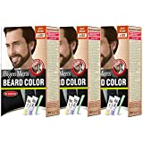 #7: Bigen Men's Beard Color, Dark Brown B103 (20g+20g) (Pack Of 3)