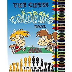 The Chess Coloring Book: Learn about chess while being creative coloring each chess related design. Included is a description of each chess piece. A great way for kids to learn an old game.