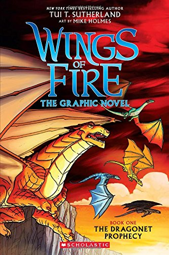 Wings of Fire: The Dragonet Prophecy (Wings of Fire Graphic Novel) thumbnail