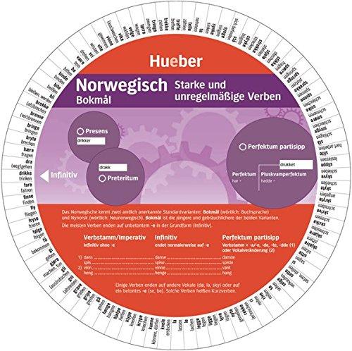 Norwegisch - Starke und unregelmäßige Verben: Wheel - Norwegisch - Starke und unregelmäßige Verben