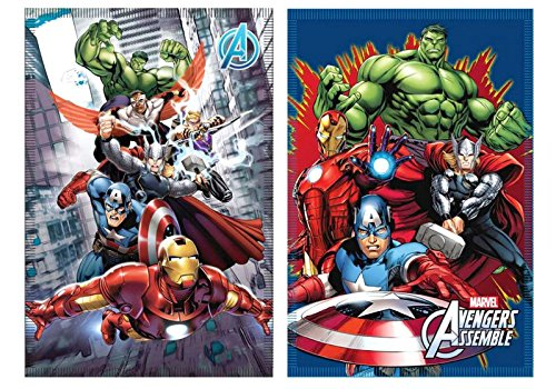 Marvel Avengers Fleece Decke Kuscheldecke 100x140cm (Disney Falcon Infinity)