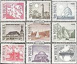 Prophila sellos para coleccionistas: Polonia 1705-1713 (completa.edición.) nuevo con goma original 1966 Turismo