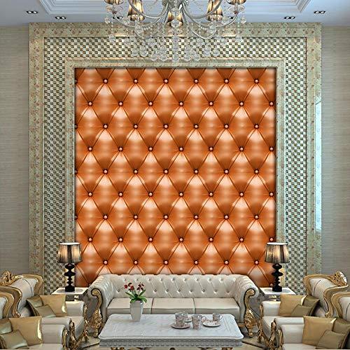 Shisky adesivi murali, autoadesivo della parete di fondo di diamante simulazione in pelle divano tv rimuovere pvc 40 * 300cm di pittura decorativo