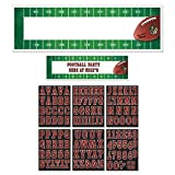 Amscan International Personalisiertes 121214 NFL Banner