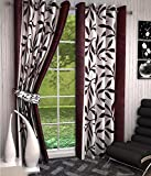 RS Quality Polyester Eyelet Curtain(Set ...