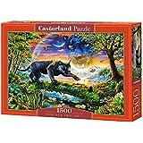 "Castorland–Puzzle–(1500-piece ""Panther Twilight, multicolore)"