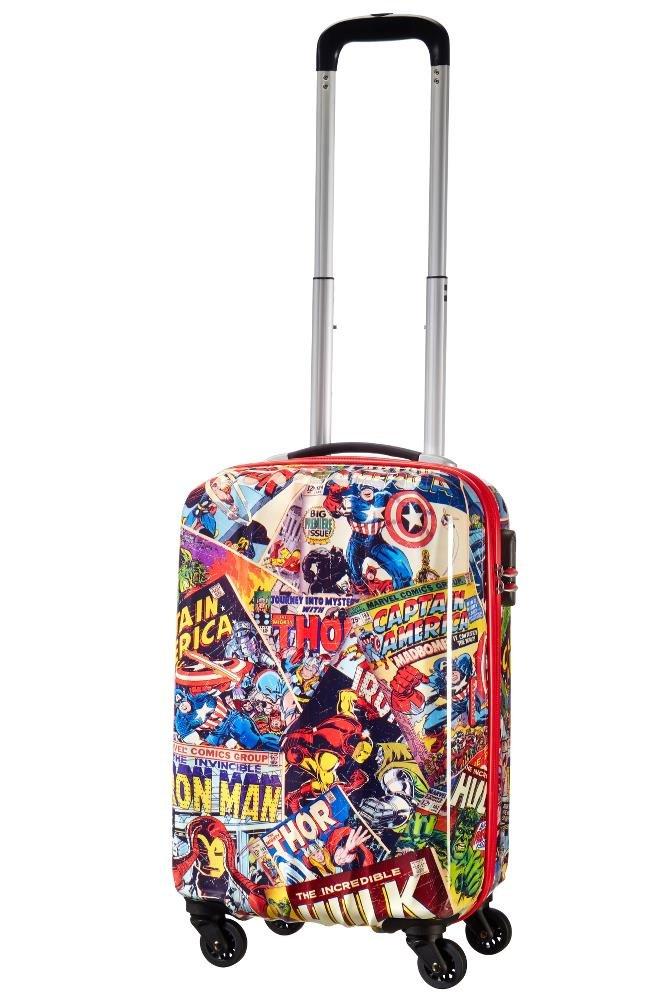 American tourister – Disney Star Wars Legends – Spinner 75/28 Joytwist Hand Luggage, 75 cm, 88 Liters, Multicolour (Star Neon)