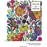 Adult Coloring Book: Flowers and Butterflies: Adult Coloring Books for Relaxation (Stress Relieving Adult Coloring Books)